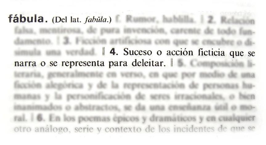 Tomado del diccionario de la RAE